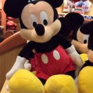 "Disney Parks Classic Mickey Mouse Plush Doll 15"" NEW"