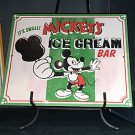 DISNEY PARKS EXCLUSIVE IT'S SWELL MICKEY'S ICE CREAM BAR SIGN NEW 13X11