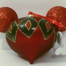 DISNEY PARKS EXCLUSIVE MICKEY HEAD ORNAMENT NEW