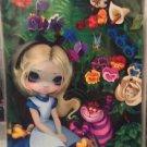 Disney WonderGround ALICE IN THE GARDEN POSTCARD Jasmine Becket-Griffith NEW