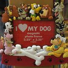 Disney Parks Exclusive I Love My Dog Magnet Frame NEW