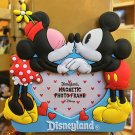 Disney Parks Disneyland Magnet Mickey & Minnie Magnetic Photo Picture Frame NEW