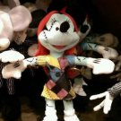"Disney Parks Nightmare Before Christmas Minnie Mouse as Sally 9"" Plush Doll New"