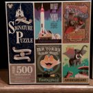 Disney Parks Signature Puzzle Four 500 Pieces Puzzles Mr. Toad Jungle Cruise NEW