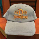 DISNEY PARKS DISNEYLAND D 1955 LIGHT GRAY MENS BASEBALL HAT