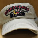 DISNEY PARKS DISNEYLAND AUTHENTIC QUALITY MICKEY MOUSE 1955  MENS BASEBALL HAT