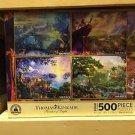 Disney Parks Thomas Kinkade Puzzle Pinocchio Lion King Peter Pan Jungle Book NEW