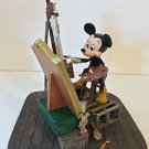 Disney Parks Self Portrait Mickey Mouse and Walt Disney Figure Figurine NEW!