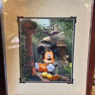 Disney Parks Mickey Mouse Temple Of Doom, Lucky Hat Print By Daniel Killen NEW
