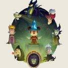 Disney WonderGround Sorcerer Mickey Some Imagination Postcard by Jerrod Maruyama