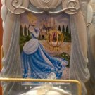"Disney parks princess cinderella resin picture photo frame 4""x6"" new"