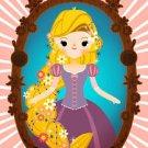 Disney WonderGround Gallery Rapunzel Deluxe Print 14x18 by Michelle Romo NEW