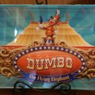Disney Parks Timothy Q. Mouse Dumbo The Flying Elephant Wood Sign and Acrylic