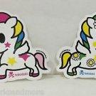 TOKIDOKI Authentic Unicorno Stellina and Margherita Sticker Set NEW(2 stickers)