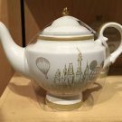 Disneyland Disney Parks Exclusive White Ceramic Teapot Teapot NEW