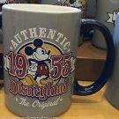 DISNEYLAND MICKEY MOUSE AUTHENTIC THE ORIGINAL 1955 CERAMIC COFFEE MUG NEW