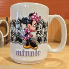Disney Parks Minnie Mouse Moods Ceramic Coffee Mug Cup NEW