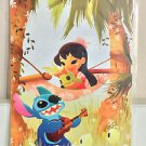 Disney WonderGround Gallery Lilo & Stitch MUSIC TO MY EARS Postcard by June Kim