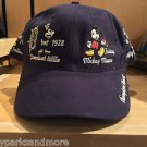 DISNEY PARKS ADULT STEAMBOAT WILLIE MICKEY MOUSE BASEBALL HAT CAP UNISEX NEW