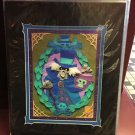 Disney Parks Haunted Mansion Cloth Hatbox Ghost Deluxe Print NEW