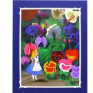 Disney Parks Alice in Wonderland Deluxe Print by Costa Alavezos NEW