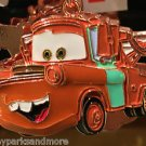 DISNEY PARKS CARS TOW MATER DANGLING METAL KEYCHAIN NEW WITH TAGS