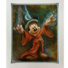 Disney Parks Mickey Mouse in Apprentice Deluxe Print by Darren Wilson NEW
