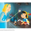 Disney Parks Pinocchio in Conscience Be Guide Deluxe Print by Don Williams NEW