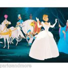 Disney Parks Cinderella in Until Midnight Deluxe Print by Don Williams NEW