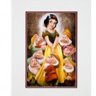 Disney Parks Snow White and Company Deluxe Print by Darren Wilson NEW