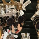 DISNEY PARKS MICKEY MOUSE FACE METAL KEY CHAIN NEW WITH TAGS