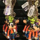 DISNEY PARKS GOOFY MOVING ARMS KEY CHAIN NEW WITH TAGS