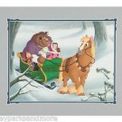 Disney Parks Beauty & The Beast Sleigh Ride Deluxe Print by Don Williams NEW