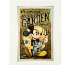 Disney Parks Mickey in Mickey Gardener Deluxe Print by Darren Wilson NEW