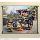 Disney Parks Mickey Minnie Donald Expedition Everest Deluxe Print by McCullough