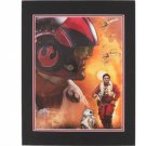 Disney Parks STAR WARS Episode VII Poe Dameron Deluxe Print NEW