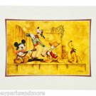 Disney Parks Mickey Goofy Donald Pluto A Pirate Life Deluxe Print by Doug Bolly