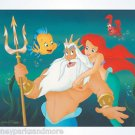 Disney Parks Little Mermaid Daddy's Little Girl Deluxe Print by Williams NEW