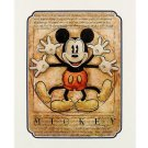 Disney Parks Mickey Mouse in Renaissance Deluxe Print by Darren Wilson NEW