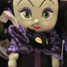 "Disney Parks Villains Maleficent Babies Plush Doll Toy with Blanket 10"" H (NEW)"