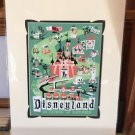 Disney Parks ROAD TO DREAMS DeluxePrint by Mike Peraza NEW