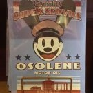 Disney Parks Oswald The Lucky Rabbit OSOLENE MOTOR OIL Tin Sign NEW