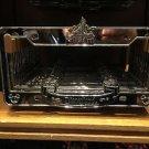 Disneyland Resort Princess Aurora Castle Metal Car License Plate Frame NEW