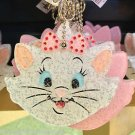 DISNEY PARKS MARIE CAT KEY CHAIN WITH RHINESTONE NEW WITH TAGS