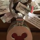 Disneyland Park Mickey Mouse Metal Key Chain NEW WITH TAGS