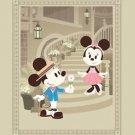 Disney WonderGround Mickey in Courting Minnie Deluxe Print Jerrod Maruyama NEW