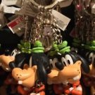 DISNEY PARKS HAPPY BUBBLE HEAD GOOFY KEYCHAIN NEW WITH TAGS