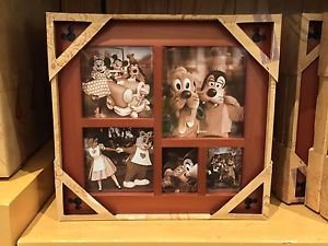 DISNEY PARKS WOOD COLLAGE PHOTO FRAME NEW IN BOX