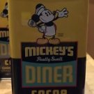 Disney Parks Mickey's Diner Really Swell Chocolate Cocoa Can 12 oz. New