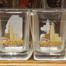 Disney Parks DCA Buena Vista OSWALD MICKEY DONALD GOOFY Shot Glass Cup Set of 4